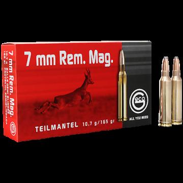 Geco 7mm Rem. Mag. 10,7g Teilmantel