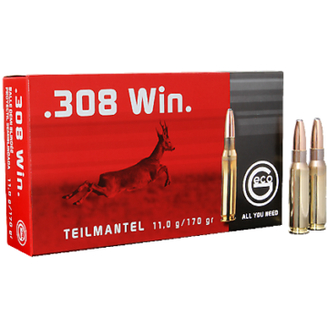 Geco .308 Win. 11,0g Teilmantel