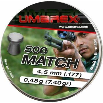 Umarex Match 4,5 mm lapos léglövedék