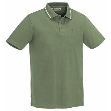 Pinewood Outdoor Life férfi póló - zöld