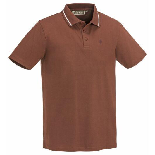 Pinewood Outdoor Life férfi póló - sötét réz